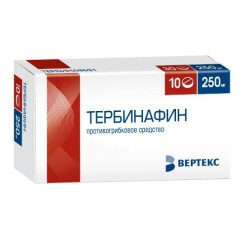 Тербинафин, табл. 250 мг №10