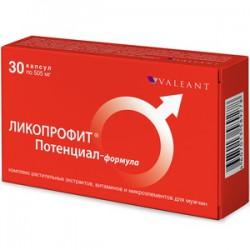 Ликопрофит потенциал-формула, капс. 505 мг №30